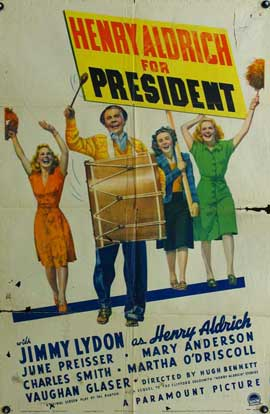 Henry Aldrich For President - 11 x 17 Movie Poster - Style A