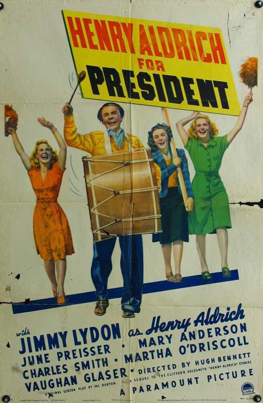 Henry Aldrich for President movie