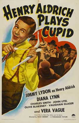 Henry Aldrich Plays Cupid - 11 x 17 Movie Poster - Style A