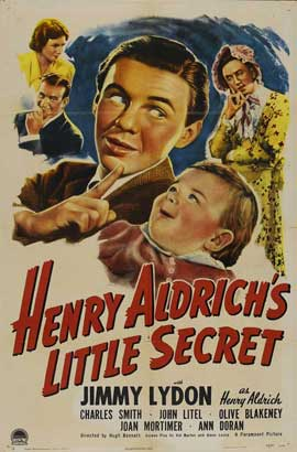 Henry Aldrich's Little Secret - 27 x 40 Movie Poster - Style A