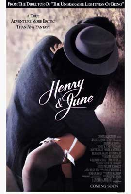 Henry & June - 27 x 40 Movie Poster - Style A
