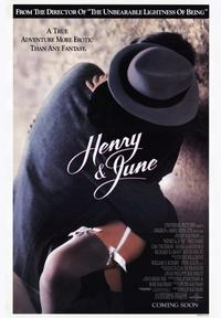 Henry & June - 43 x 62 Movie Poster - Bus Shelter Style A