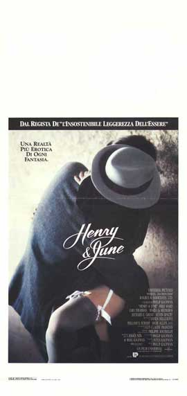 Henry & June - 13 x 28 Movie Poster - Italian Style A