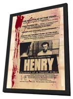 Henry: Portrait of a Serial Killer - 11 x 17 Movie Poster - Style A - in Deluxe Wood Frame
