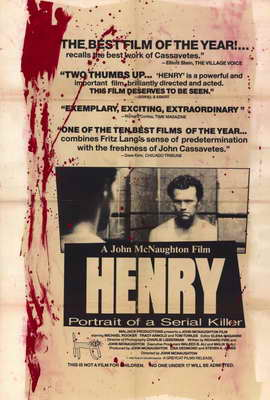 Henry: Portrait of a Serial Killer - 27 x 40 Movie Poster - Style A