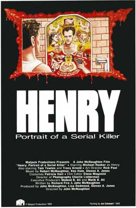Henry: Portrait of a Serial Killer - 11 x 17 Movie Poster - Style B