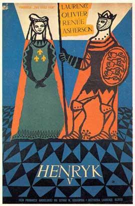 Henry V - 11 x 17 Movie Poster - Polish Style A