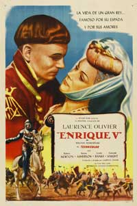Henry V - 43 x 62 Movie Poster - Spanish Style A