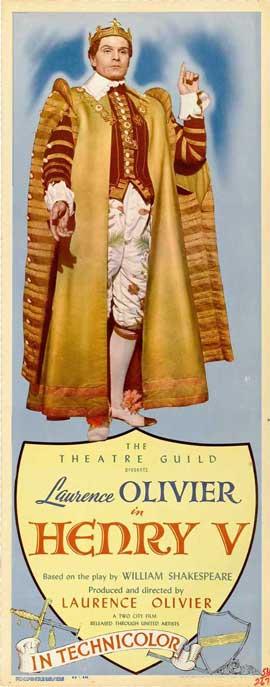 Henry V - 14 x 36 Movie Poster - Insert Style A