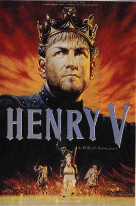 Henry V - 11 x 17 Movie Poster - French Style A