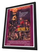 Henry V - 27 x 40 Movie Poster - Style A - in Deluxe Wood Frame
