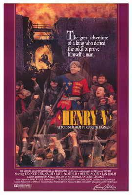 Henry V - 27 x 40 Movie Poster - Style A