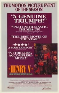 Henry V - 11 x 17 Movie Poster - Style C