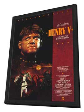 Henry V - 11 x 17 Movie Poster - Style B - in Deluxe Wood Frame