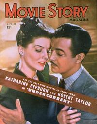 Katharine Hepburn - 27 x 40 Movie Poster - Movie Story Magazine Cover 1940's