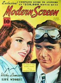 Katharine Hepburn - 27 x 40 Movie Poster - Modern Screen Magazine Cover 1930's Style B