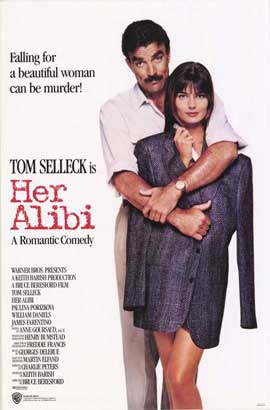 Her Alibi - 11 x 17 Movie Poster - Style A
