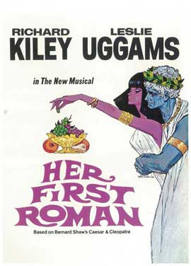 Her First Roman (Broadway) - 14 x 22 Poster - Style A