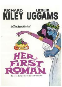 Her First Roman (Broadway) - 11 x 17 Poster - Style A