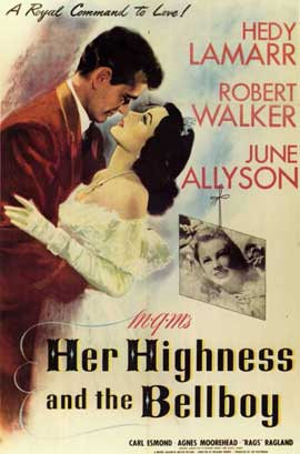 Her Highness and the Bellboy - 11 x 17 Movie Poster - Style A