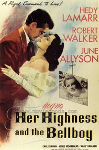 Her Highness and the Bellboy - 43 x 62 Movie Poster - Bus Shelter Style A