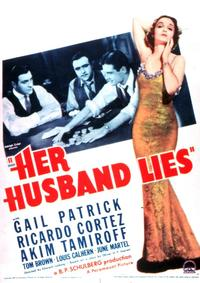 Her Husband Lies - 27 x 40 Movie Poster - Style A