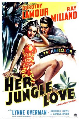 Her Jungle Love - 11 x 17 Movie Poster - Style A