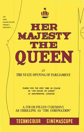 Her Majesty the Queen - 11 x 17 Movie Poster - Style A