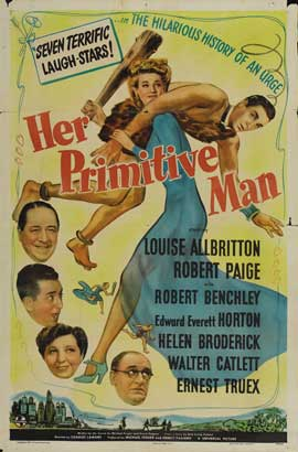 Her Primitive Man - 11 x 17 Movie Poster - Style A