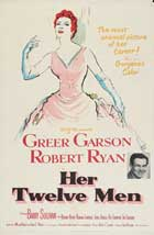 Her Twelve Men - 11 x 17 Movie Poster - Style A
