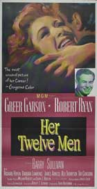 Her Twelve Men - 20 x 40 Movie Poster - Style A
