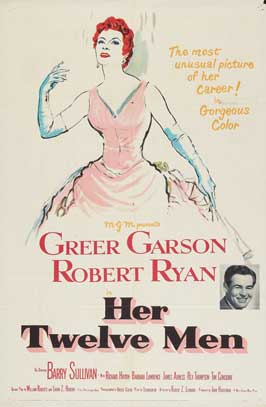 Her Twelve Men - 27 x 40 Movie Poster - Style A