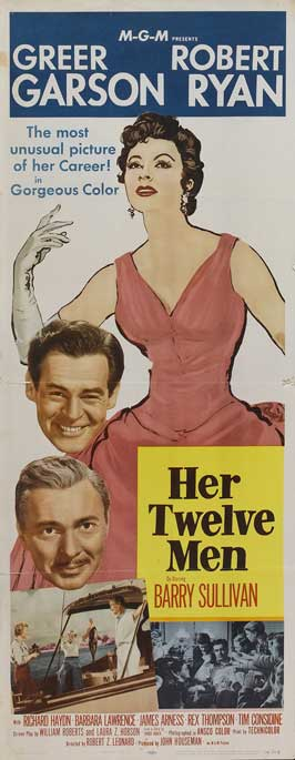 Her Twelve Men - 14 x 36 Movie Poster - Insert Style A