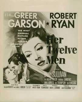 Her Twelve Men - 11 x 17 Movie Poster - Style B