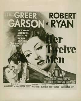 Her Twelve Men - 27 x 40 Movie Poster - Style B