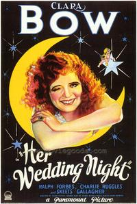 Her Wedding Night - 43 x 62 Movie Poster - Bus Shelter Style A