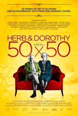 Herb & Dorothy 50x50 - 11 x 17 Movie Poster - Style A