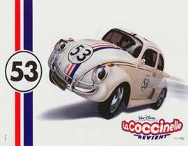 Herbie: Fully Loaded - 11 x 14 Poster French Style D