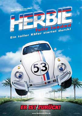 Herbie Fully Loaded - 27 x 40 Movie Poster - German Style B