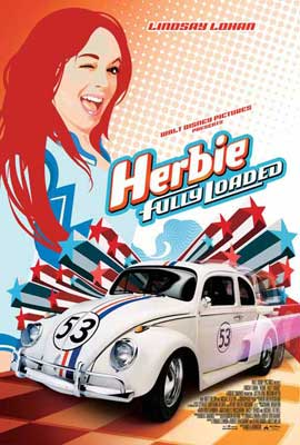 Herbie Fully Loaded - 27 x 40 Movie Poster - Style B