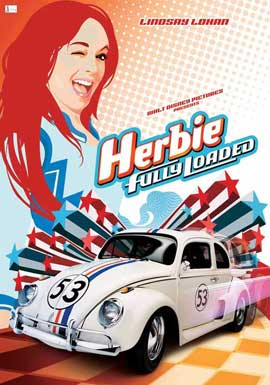 Herbie Fully Loaded - 27 x 40 Movie Poster - Style C