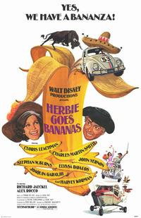 Herbie Goes Bananas - 11 x 17 Movie Poster - Style A