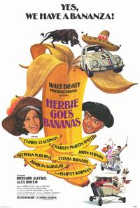 Herbie Goes Bananas - 27 x 40 Movie Poster - Style A