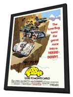Herbie Goes to Monte Carlo - 11 x 17 Movie Poster - Style A - in Deluxe Wood Frame