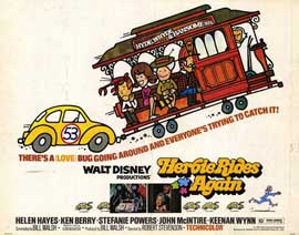 Herbie Rides Again - 11 x 14 Movie Poster - Style A