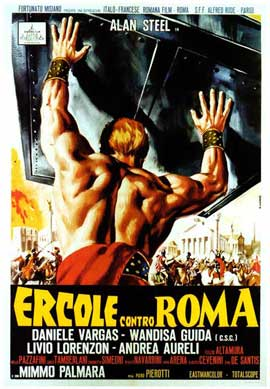 Hercules Against Rome - 27 x 40 Movie Poster - Italian Style A