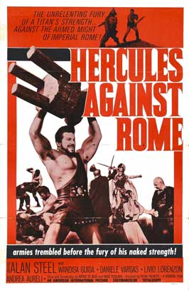 Hercules Against Rome - 27 x 40 Movie Poster - Style A