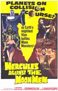 Hercules against the Moon Men - 11 x 17 Movie Poster - Style A