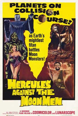 Hercules against the Moon Men - 27 x 40 Movie Poster - Style A