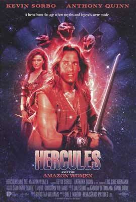 Hercules and the Amazon Women - 11 x 17 Movie Poster - Style A